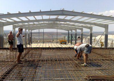 Груб строеж на офис сграда и монтаж на анкери за метални конструкции