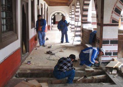 Ремонтно-реставрационни дейности Рилски манастир