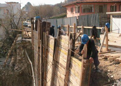 Укрепване на изкопи гр. Балчик