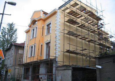 Укрепване и реставрация на стара сграда гр. София